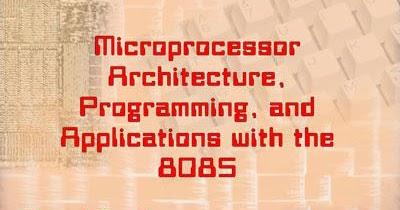 Microprocessor Book By Gaonkar Pdf