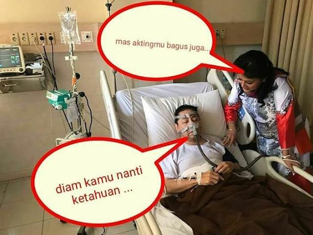 Meme Novanto; Takut ketahuan saat berakting sakit