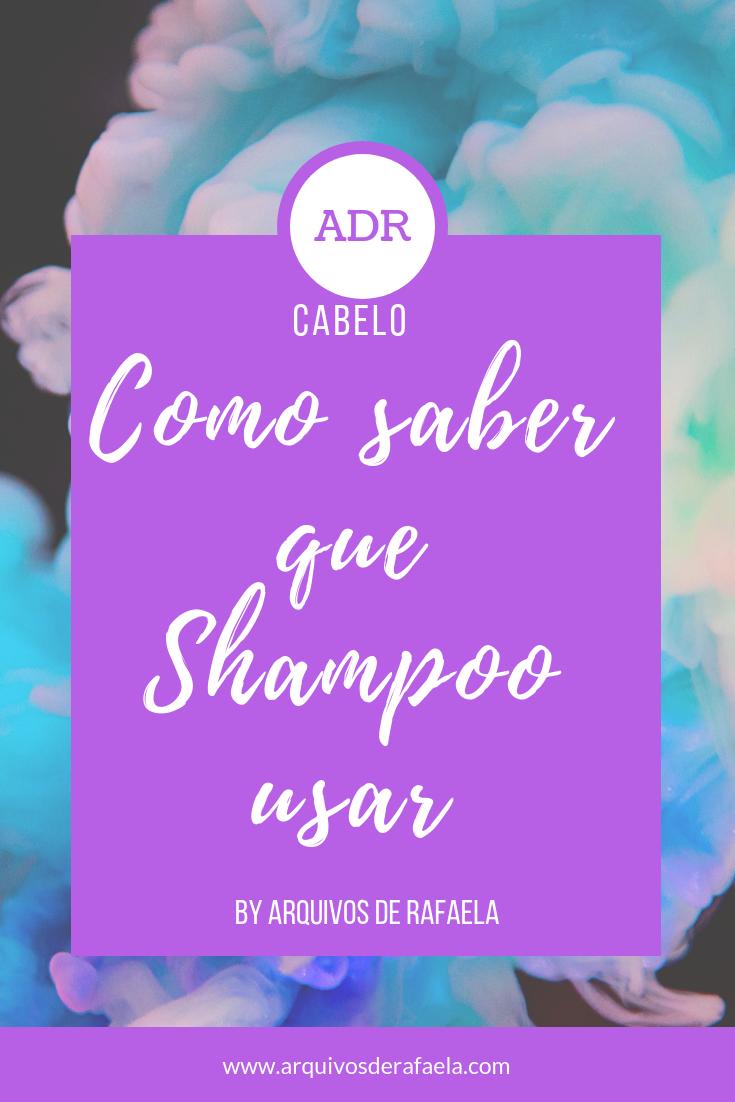 Como saber que shampoo é bom para o seu cabelo.