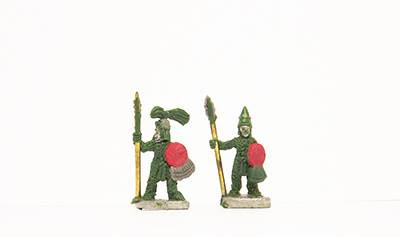 Huaxtec warriors/Priests