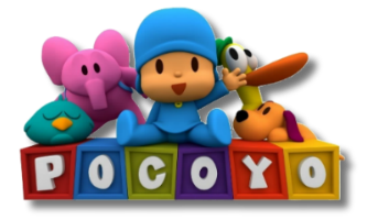 Personagens Pocoyo - logo
