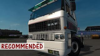 ets 2 daf f241 series truck sound mod