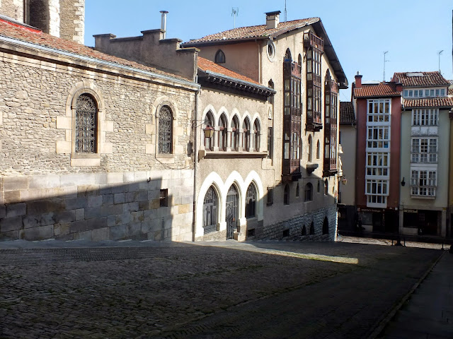 palacios casco antiguo Vitoria Gateiz