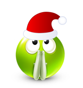 Christmas Smiley Icon 11
