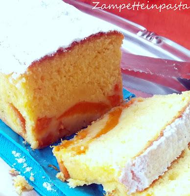 Plumcake soffice con albicocche senza burro
