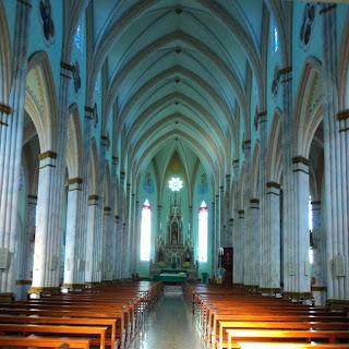 Interior da Igreja Matriz de Garibaldi