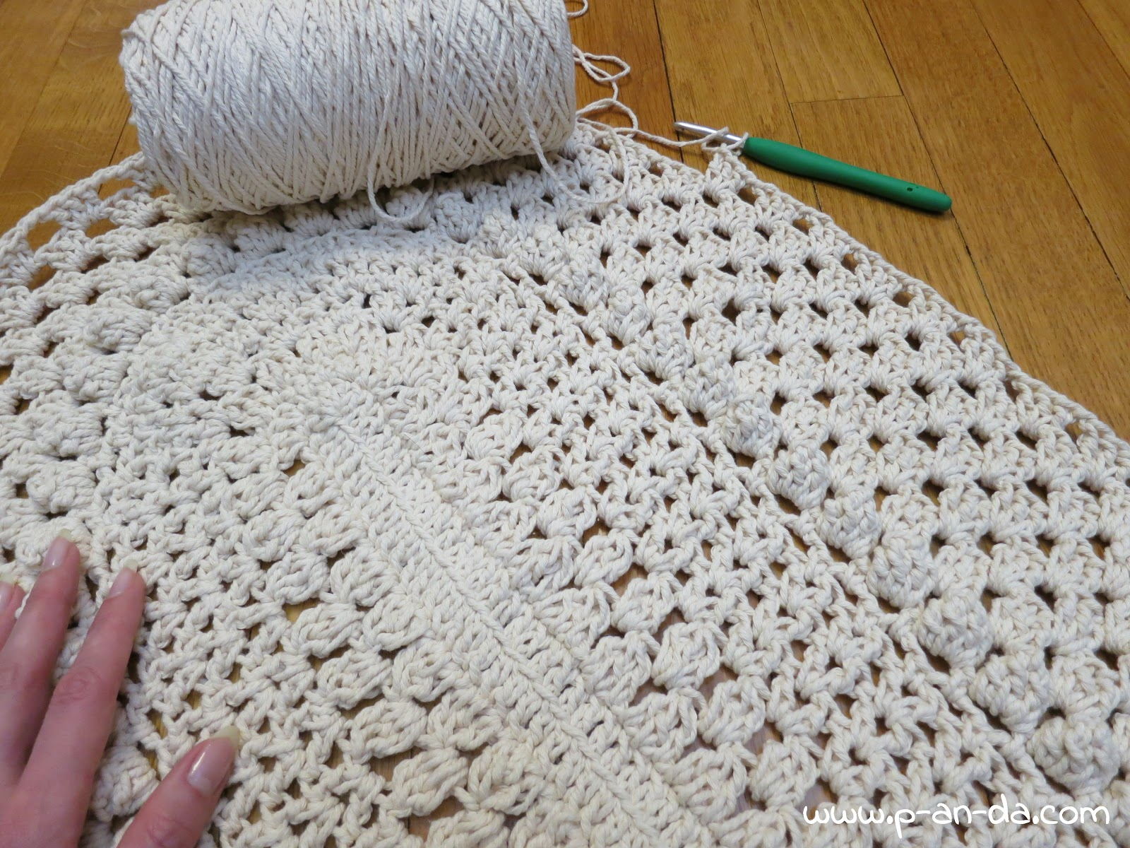 схема вязанных ковров