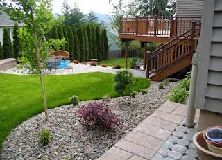 gambar desain taman rumah minimalis