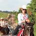 Cavalgada do km 05 até o Bar do Jovino na linha 08 em Ji-Paraná
