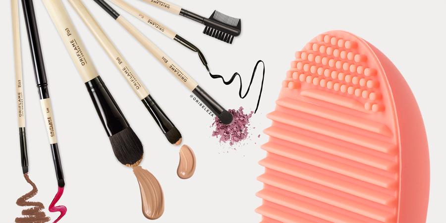 Como Utilizar a Escova de Limpeza para Pincéis de Maquilhagem