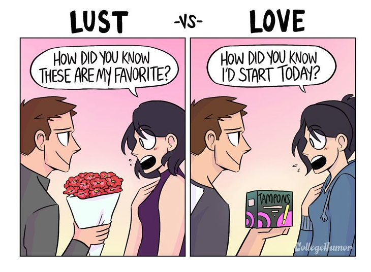 Do You Know The Difference Between Lust And Love These 5