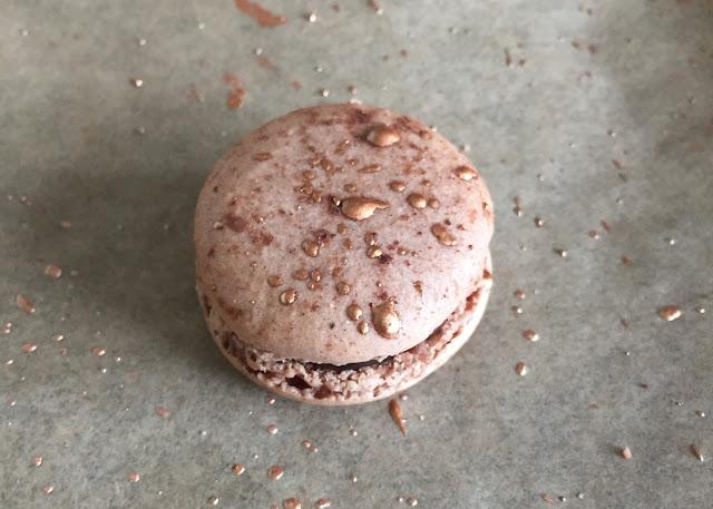 Baking Chocolate Orange Macaron Gold