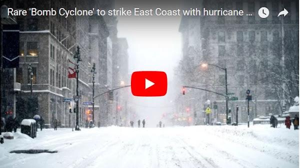 Caída de nieve en Florida deja a sus habitantes preocupados