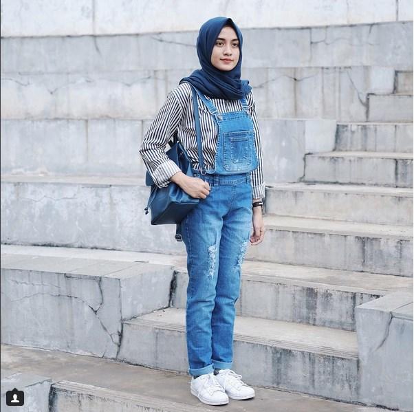 Gaya Berhijab Simple Elegan Dan Nyaman Tutorial Hijab