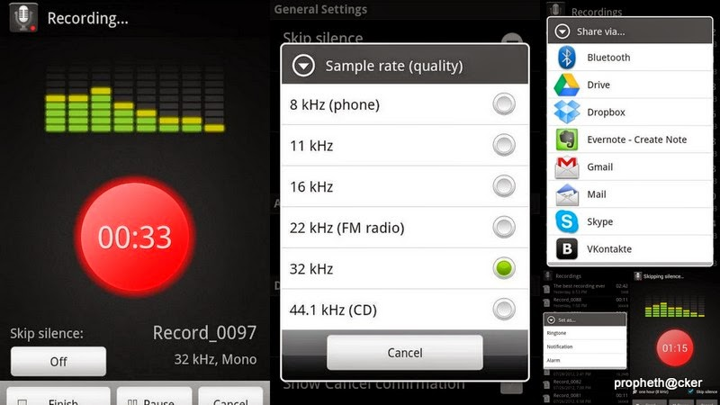 Download Free Best Voice Recorder Android Apk