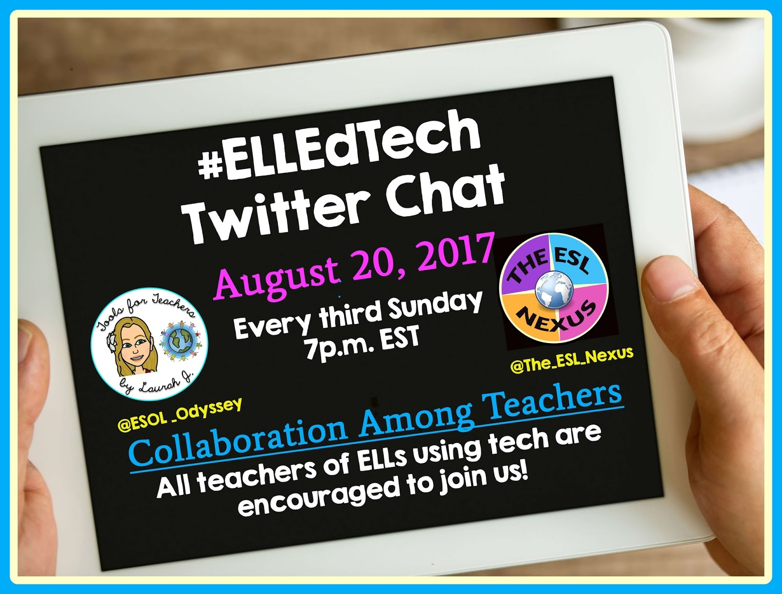 Teamwork among teachers fosters success in students. Join the #ELLEdTech Twitter chat on 8/20/17 for ideas on how to facilitate collaboration between ESL, SPED & mainstream teachers | The ESL Nexus