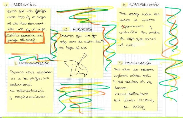 Resultado de imaxes para ejemplos de metodo cientifico