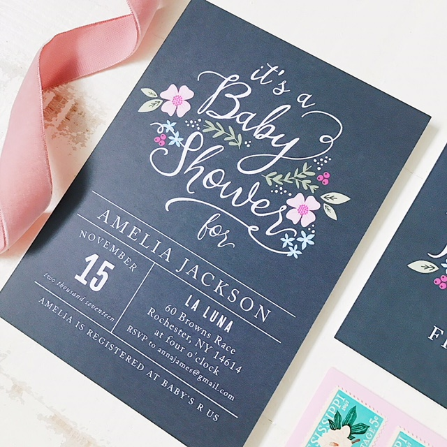 Design Your Own Bridal Shower Invites
