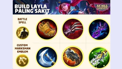 build layla sakit