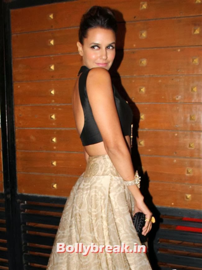Neha Dhupia, Filmfare Awards 2014 Red carpet Images