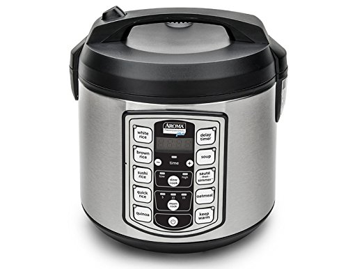 12 Days of Holiday Giveaways...Aroma Housewares...20-Cup Digital Cool-Touch Rice Cooker, Food Steamer and Slow Cooker.  Chicken & Rice Burritos. (sweetandsavoryfood.com)