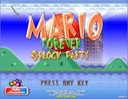Download Mario Forever: Block Party – Mario game on computer