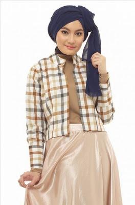 Baju Blazer Wanita Muslim Blazer Batik Wanita Blazer Batik Wanita