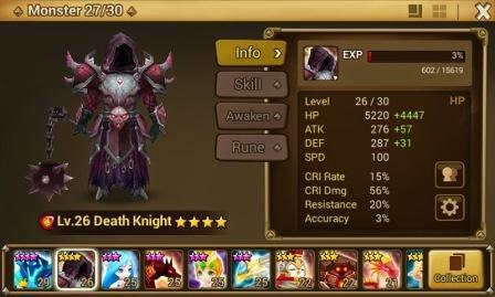 Trik Mendapatkan Summon Monster 4 Death Knight Summoner War Gratis