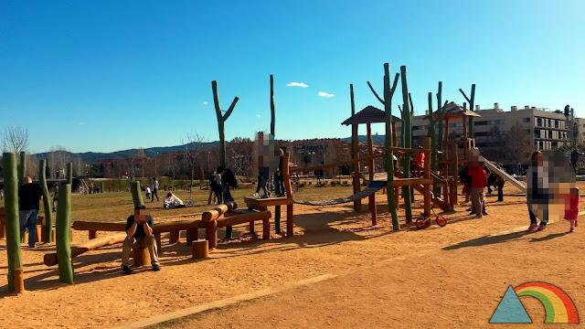 Parque del Turó de Can Mates en Sant Cugat