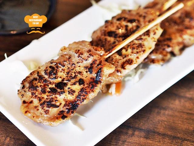 Thai BBQ Pork Stick Moo Ping