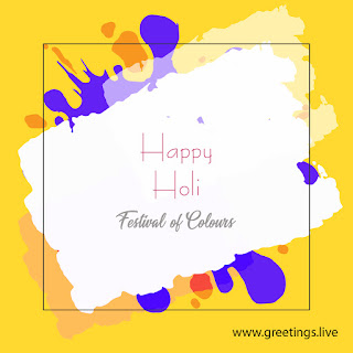 Festival of colors holi wishes image