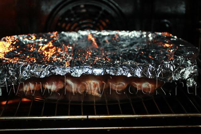 рецепт свиных ребрышек в медовом маринаде с копченой паприкой с пошаговыми фото
