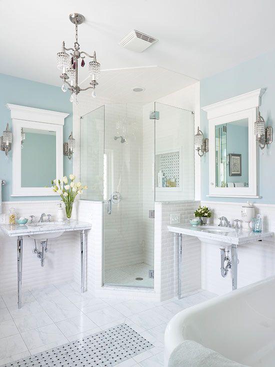 78 Light Blue Bathroom Color Decorating Ideas