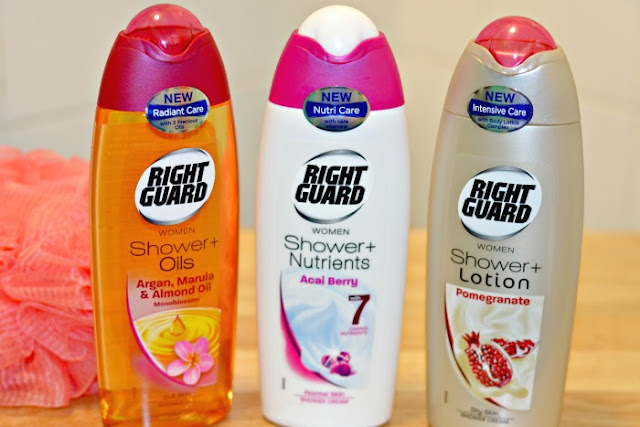 Right Guard Shower + Range Review