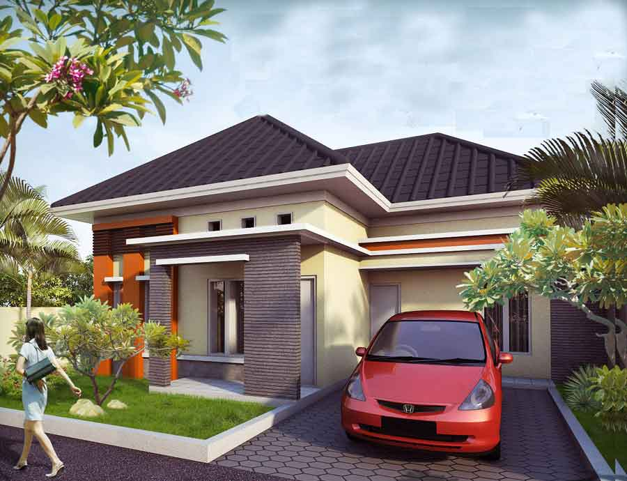 10 Desain Rumah Sederhana Dengan Budget Sederhana - Desain Rumah