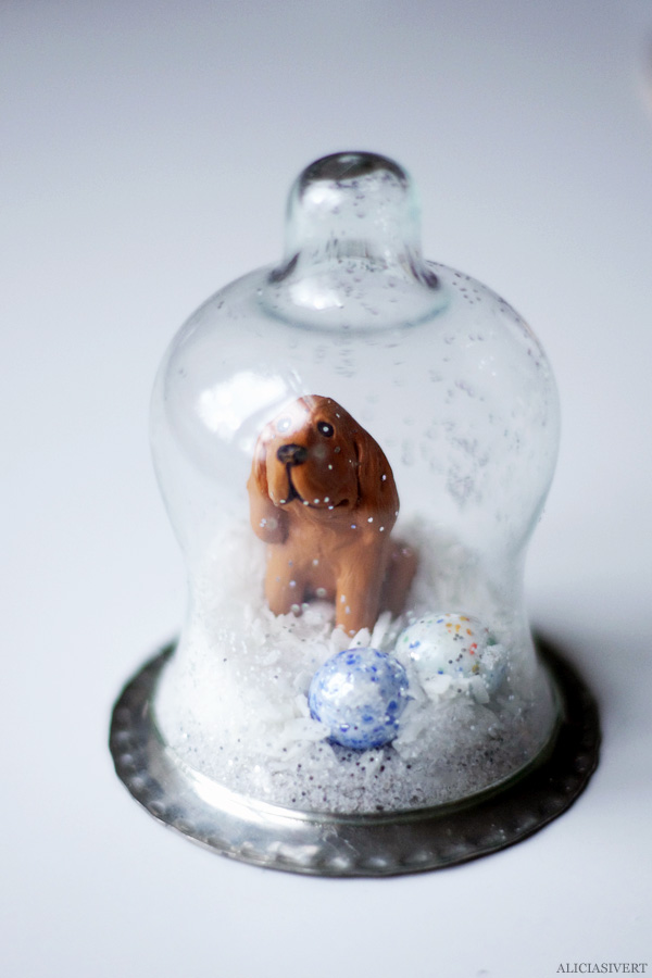 aliciasivert, alicia sivertsson, diy, remake, upcycle, återbruk, julklapp, do it yourself, snow globe, snowglobe, winter, christmas, holidays, snökula, snöglob, snölandskap, gör det själv