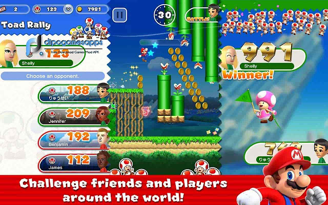 Download Super Mario Run Mod Apk Terbaru 2018
