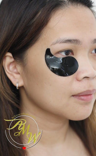 a photo of askmewhats Esfolio Black Caviar Hydrogel Eye Patch Review