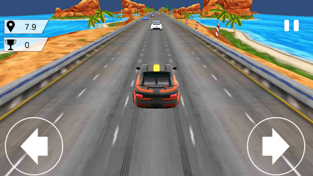 Download Free Fast Endless Car Traffic Android Game 2017