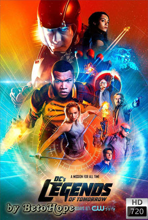Legends of Tomorrow Temporada 2 [720p] [Latino] [MEGA]