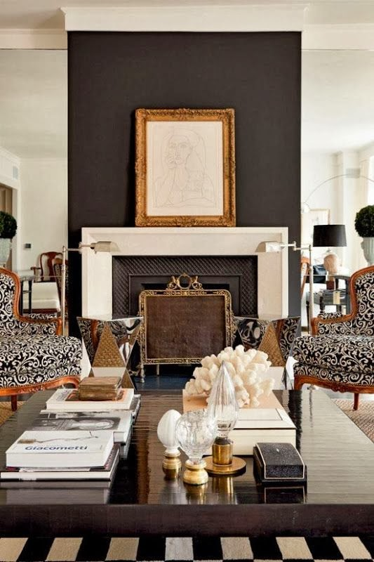 White Coffee Table Styling