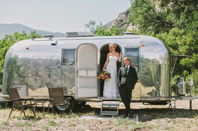 Silver Safari Web Log: Airstream Wedding ~ Ashley & Denni