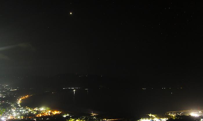Teluk Pacitan di Malam Hari