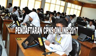 cara daftar cpns online