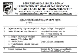 Download Contoh SPPD (Surat Perintah Perjalanan Dinas) Terbaru 2018