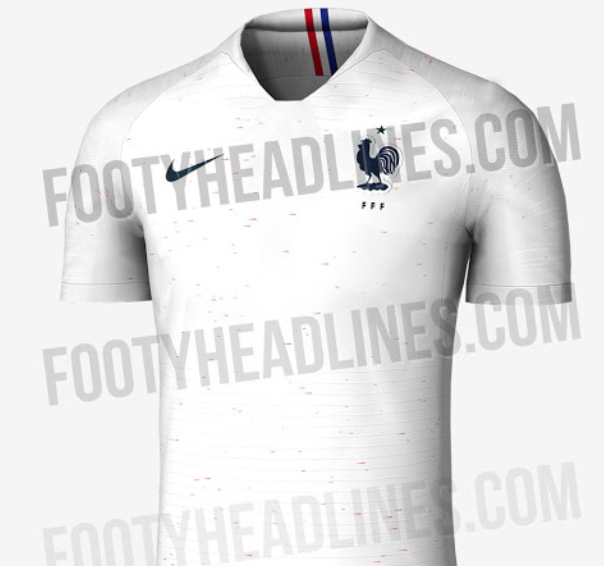France Away kit 2018 leaked for World Cup