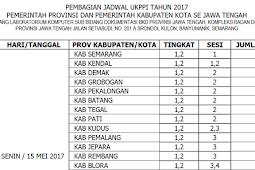 Jadwal Pelaksanaan Ujian Kenaikan Pangkat Penyesuaian Ijazah Tahun 2017