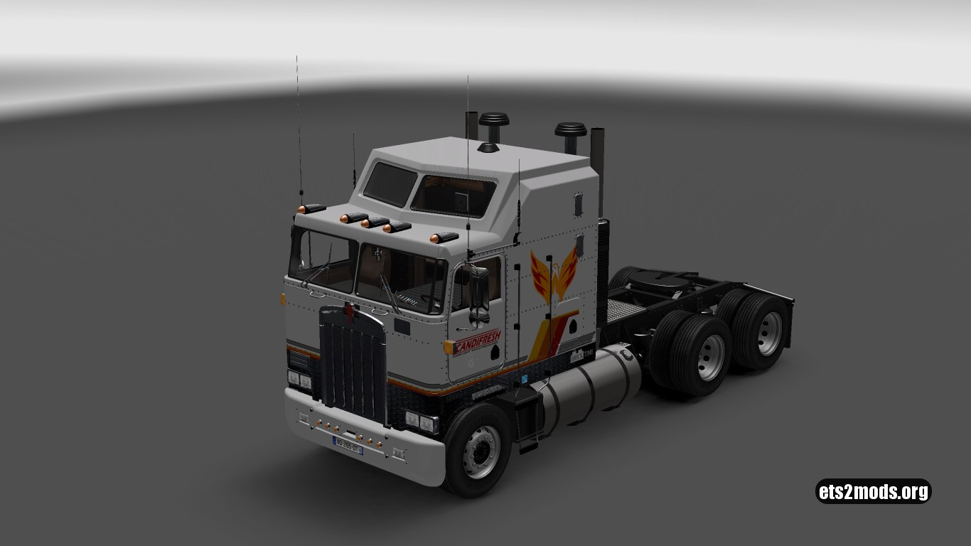 Scandifresh Skin for Kenworth K100