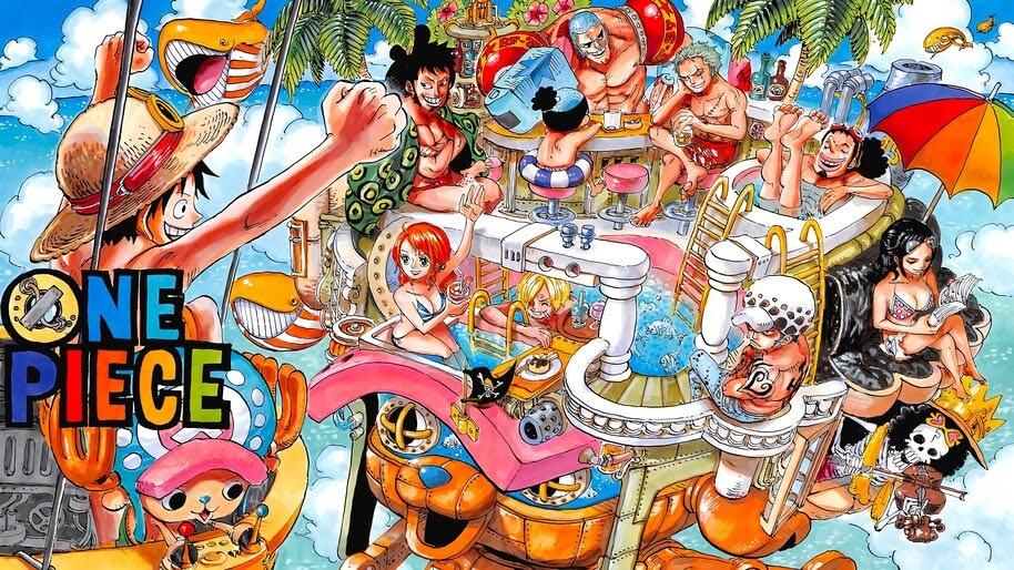 One Piece, Straw Hat Pirates, 4K, #6.167