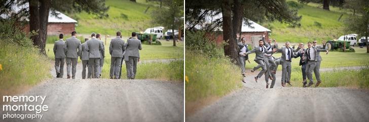 Cle Elum Wedding at The Cattle Barn  Liz and Brian Inderbitzin